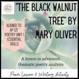 """The Black Walnut Tree"" Poem Study"