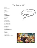"""""""The Book of Life"""" movie worksheet"""