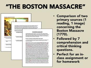 """The Boston Massacre"" - The American Revolution - US History/APUSH"