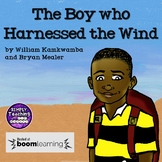 """The Boy Who Harnessed the Wind"" no prep Digital Boom Card"