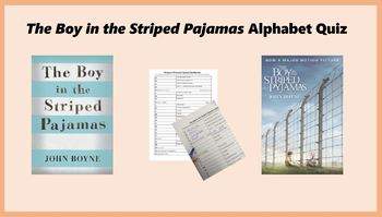 'The Boy in the Striped Pajamas' - Alphabet Quiz Game