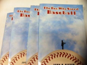 """The Boy who Saved Baseball"" books, by John H Ritter - Literature Circle Set"