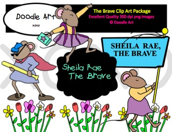 """The Brave"" Clipart Pack"
