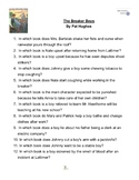 """""""The Breaker Boys"""" By Pat Hughes, Battle of the Books Questions"""