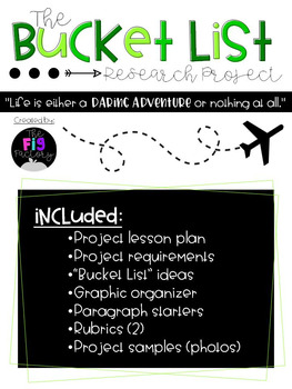 """The Bucket List"" Research Project"