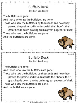 """""""The Buffalo Are Back"""" Activity Packet (Wit & Wisdom, Module 2 Lessons 1-5)"""