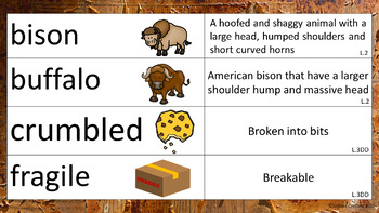 """""""The Buffalo Are Back"""" PowerPoint & Activity Packet"""