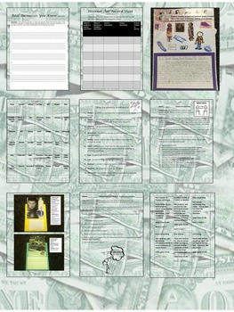 Informational Texts, Reading and Writing Activities and Game