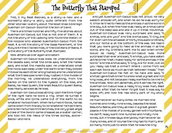 """""""The Butterfly that Stamped"""" Just So Stories with Depth and Complexity"""