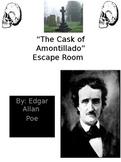 """""""The Cask of Amontillado"""" Escape Room"""