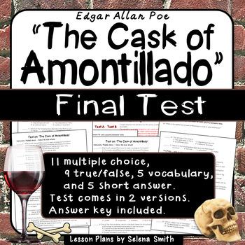 """The Cask of Amontillado"" Test"