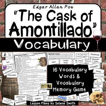 """The Cask of Amontillado"" Vocabulary"