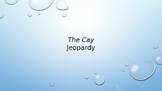 """The Cay"" Study Jeopardy"