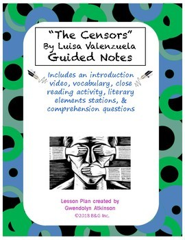 """""""The Censors"""" Guided Notes"""