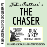 """The Chaser"" by John Collier - Quiz & Key (Word Doc, Google Doc & PDF)"