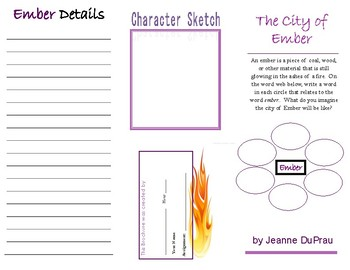 """The City of Ember"" brochure"