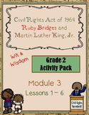 """""""The Civil Rights Act"""" Activity Packet (Wit & Wisdom, G2 M"""