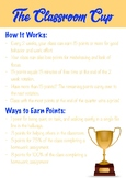 """The Classroom Cup"" Classroom Management Activity"