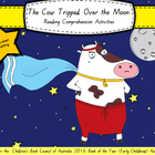 """""""The Cow Tripped Over the Moon"""" reading comprehension activities"""