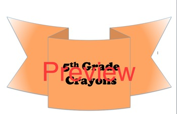 """The Crayon Box That Talked"" Back-to-School Activity"