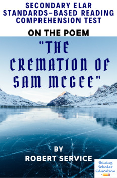 """""""The Cremation of Sam McGee"""" Poem by Robert Service Poetry Reading Test"""