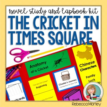 """""""The Cricket in Times Square"""" Novel Study"""