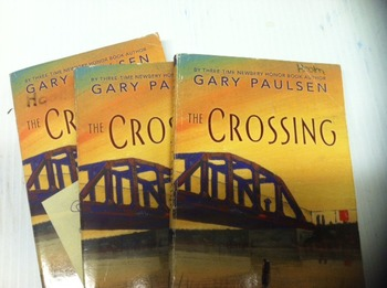 """The Crossing"" books, by Gary Paulsen - Literature Circle Set"