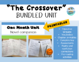"""The Crossover"" by, Kwame Alexander - Complete NOVEL BUNDLE"
