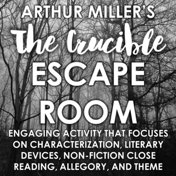 """The Crucible"" Escape Room: Engaging Post-Reading Activity"