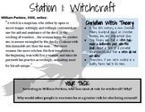 """The Crucible"" Introductory Learning Stations"