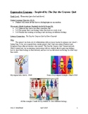 """""""The Day the Crayons Quit"""" Expressive Crayons Lesson Plan"""