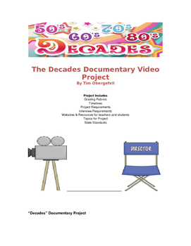"""The Decades Project"" Documentary Video US History"