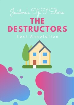 The Destructors by Graham Greene: Text Annotation