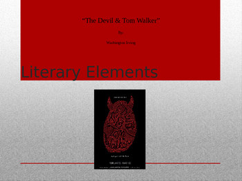 """The Devil and Tom Walker"" Interactive PowerPoint"