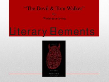 """""""The Devil and Tom Walker"""" Teachers' Bundle Unit"""