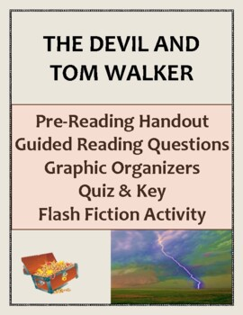 """The Devil and Tom Walker"" by Washington Irving:  A Complete Lesson Plan"