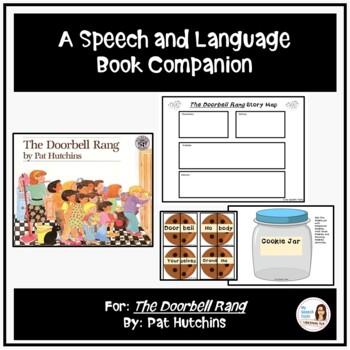 """""""The Doorbell Rang"""" A Speech Therapy Book Companion"""