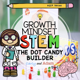 The Dot by Peter Reynolds Candy Builder Growth Mindset STEM Activity