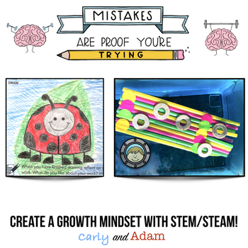 """The Dot"" Growth Mindset STEM Activity Bundle"