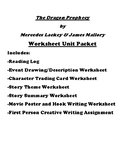 """The Dragon Prophecy"" by Mercedes Lackey & James Mallory Unit Worksheet Packet"