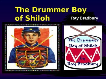 """""""The Drummer Boy of Shiloh"""" - Review & Analysis. Teacher/Student Reference"""