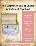 """The Drummer Boy of Shiloh"" by Ray Bradbury ActivBoard Flipchart"