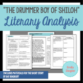 """The Drummer Boy of Shiloh"" by Ray Bradbury Literary Analysis Graphic Organizers"
