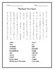 """""""The Eagle"""" by Alfred, Lord Tennyson Quick Quiz and Word Search"""