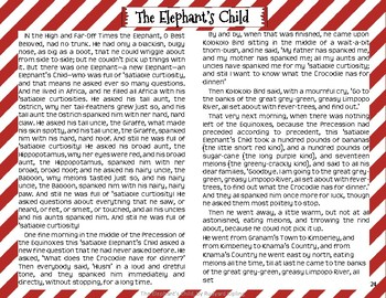 """""""The Elephant's Child"""" Just So Stories with Depth and Complexity"""