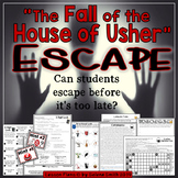 """The Fall of the House of Usher"" Escape Room / Lock Box"