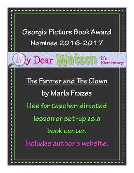 """""""The Farmer and The Clown"""" - GA Picture Book Award Nominee 2016-2017"""
