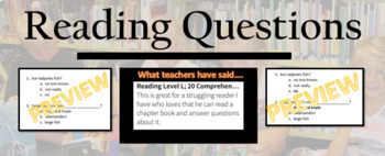 """""""The Fighting Ground"""" final test ; reading comprehension questions"""