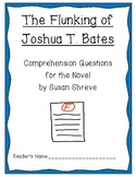 """The Flunking of Joshua T. Bates"" Comprehension Questions"
