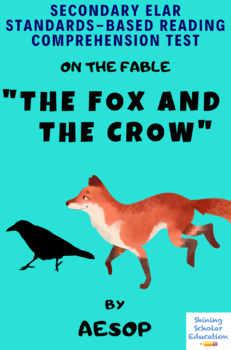 The Fox And The Crow Worksheets & Teaching Resources | TpT